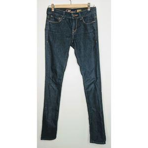 Mavi Alexa Low Cut Dark Denim Skinny Jeans